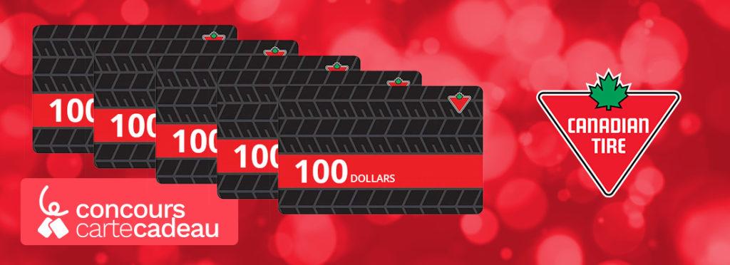 Carte Cadeau Canadian Tire